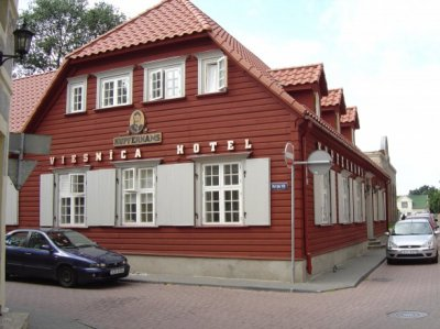 "The guest house ""Kupfernams"" in Ventspils"