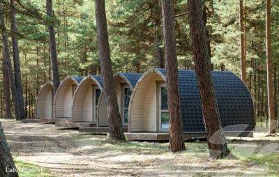 """Poilsiavietė """"BB camping"""" Latvijoje"""