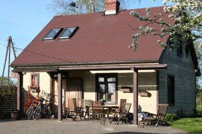 """Svečių namai """"Roķi"""" Latvijoje prie jūros"""